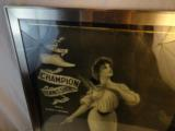 Rare 1890's Lady Champion Tennis Shoe Advertising Poster - 2 of 3
