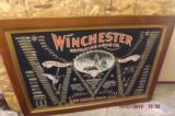 All Original WinchesterDouble W Cartridge Board Poster- Original Frame - 3 of 8
