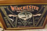 All Original WinchesterDouble W Cartridge Board Poster- Original Frame - 1 of 8