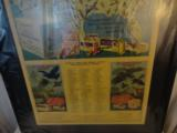 Large 1940's Winchester Western Framed Poster - 3 of 4