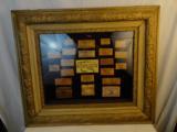Beautifully Framed Gettysburg Skins Ammo Framed Display -- 1 of 5
