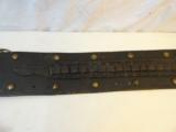 """Circa 1890 T. Flynn marked Colt SAA 7 1/2"""" Single Loop Holster / Belt - 5 of 8"""