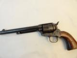 1880 Colt SAA 7 1/2 Etched Panel 44-40 in scarce factory blue finish with Letter - 2 of 7