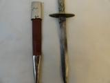 Pre Civil Wark Dirk with Silver Handle - G. Woodhead of Sheffield - 4 of 4