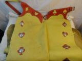 Colorful Playing Card Western Rodeo Chaps Womens 1930-40's