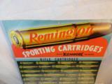 Gem Mint 1940's Remington Kleenbore Cartridge Board- Cardboard - 2 of 5