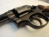 Near New Early Post War (1948-49) Smith Wesson Pre Model 10in .38 Spl.- 10 of 10