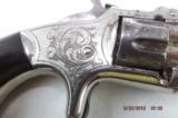 Fine Engraved Smith & Wesson Model 1 Spur Trigger Pocket Revolver - 4 of 11