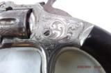 Fine Engraved Smith & Wesson Model 1 Spur Trigger Pocket Revolver - 6 of 11