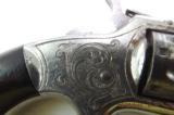 Fine Engraved Smith & Wesson Model 1 Spur Trigger Pocket Revolver - 3 of 11