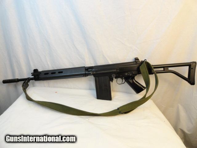 Fine Original Belgium FN-Fal Model 50 63  308 Folding Stock Rifle