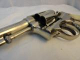 Pre War Factory NickelM&P Smith Wesson HE .38 spl.Pearls Model of 1905 - 7 of 10