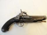 Doglock Percussion Pistol circa 1830-40's in 70 caliber - 1 of 5