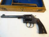 English Dealer Cased Colt Old Model New Service Target .455 - 3 of 13
