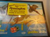 Wonderful and rare Spanish Remington Cardboard Advertising- 1930's