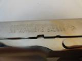 Near MintColt 1911 Nickel Series 70 in 45 - 3 of 10