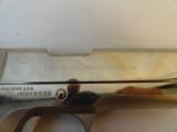 Near MintColt 1911 Nickel Series 70 in 45 - 10 of 10