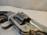 Very Fine Smith & Wesson New Model Number 3 SA Target 38-44 Nickel - 6 of 7