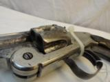 Very Fine Smith & Wesson New Model Number 3 SA Target 38-44 Nickel - 5 of 7