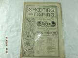 Shooting and Fishing Newspapers from the1890 - 6 of 8