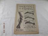 Shooting and Fishing Newspapers from the1890 - 1 of 8