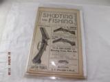 Shooting and Fishing Newspapers from the1890 - 4 of 8