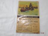 1945 Weller Outdoor Tackle Calender - 1 of 1