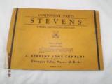 7 Stevens Parts List Catalogs from 1920-30's - 5 of 8