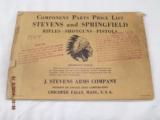 7 Stevens Parts List Catalogs from 1920-30's - 4 of 8