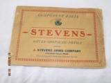 7 Stevens Parts List Catalogs from 1920-30's - 7 of 8