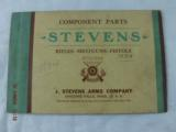 7 Stevens Parts List Catalogs from 1920-30's - 1 of 8