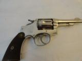 Almost New Smith Wesson HE Nickel mfg 1914 in 32-20 - 2 of 8