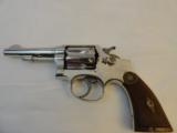 Almost New Smith Wesson HE Nickel mfg 1914 in 32-20 - 1 of 8