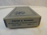 Scarce Nickel MIB Smith Wesson Model 12-3 Nickel Airweight - 14 of 14