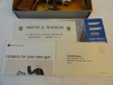 Scarce Nickel MIB Smith Wesson Model 12-3 Nickel Airweight - 3 of 14