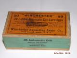 Sealed box of Winchester 38acp cartridges - 1 of 4