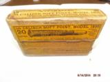 Winchester Model 1895 .35 Caliber soft point ammo - 1 of 3