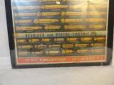 Small Remington Full Color Cardboard Easle Back Cartridge Ad - 2 of 3