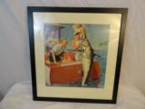 Original 1940's Four Roses Illustration Art