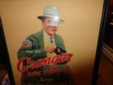 Large Framed 1937 Skeet Team Granger Die Cut Cardboard Advertising - 4 of 4
