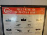 1940's Colt Police revolver Instruction Chart Poster - 2 of 4