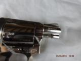 Boxed Smith & Wesson Model 38 Nickel Hammerless - 4 of 9