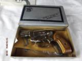 Boxed Smith & Wesson Model 38 Nickel Hammerless - 1 of 9