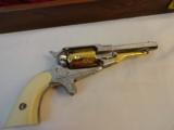 Cased Set of Engraved Remington 1858 & Pocket Model - 6 of 7