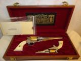 Cased Set of Engraved Remington 1858 & Pocket Model - 1 of 7