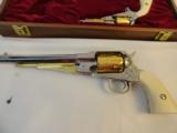 Cased Set of Engraved Remington 1858 & Pocket Model - 4 of 7