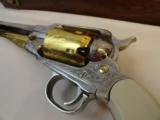 Cased Set of Engraved Remington 1858 & Pocket Model - 5 of 7