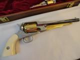 Cased Set of Engraved Remington 1858 & Pocket Model - 3 of 7