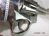 Smith & Wesson Model 10 Factory Nickel 1957 - 4 of 7