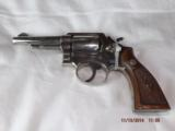 Smith & Wesson Model 10 Factory Nickel 1957 - 2 of 7